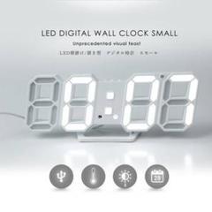 """Thumbnail of """"3D LED デジタル 壁掛け 置き時計 インテリア 目覚まし"""""""