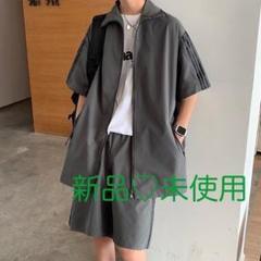 "Thumbnail of ""【大人気】セットアップ 半袖 上下セット 夏 ハーフパンツ ジャージ"""