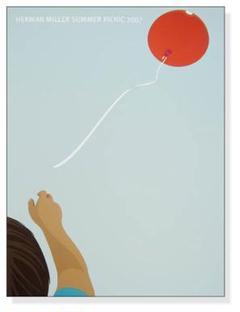 """Thumbnail of """"バルーン サマーピクニック 2007年(ハーマンミラー)アートポスター"""""""