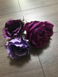 """Thumbnail of """"髪飾り 紫 3点セット"""""""