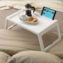 """Thumbnail of """"【新品】IKEA KLIPSK クリプスク トレイテーブル ホワイト"""""""
