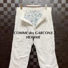 "Thumbnail of ""コムデギャルソンオム COMME des GARCONS 白パンツ"""