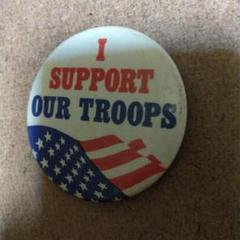 """Thumbnail of """"米軍関係✩I-support✩our-troops✩缶バッチ"""""""