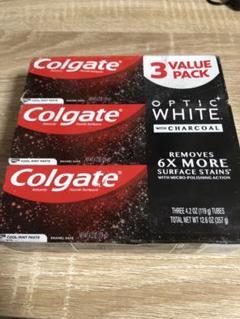 """Thumbnail of """"Colgate コルゲート オプティック ホワイト チャーコール 3本"""""""