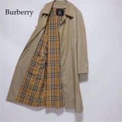 """Thumbnail of """"Burberry ベージュ ノバチェック 比翼仕立て トレンチコート"""""""