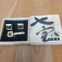 "Thumbnail of ""カフスボタン&ネクタイピン 七宝焼"""