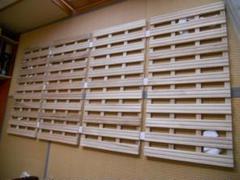 """Thumbnail of """"通気性バツグン ニトリ 木製 すのこベッド シングル 折りたたみ簡単収納 です。"""""""
