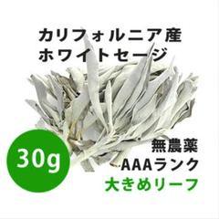 """Thumbnail of """"【無農薬】ホワイトセージ  高品質30g 解説マニュアル&チャック付きポリ袋"""""""