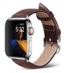 "Thumbnail of ""【新品】ブラック アップルウォッチバンド 高級レザーベルト 本革 Apple"""