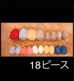 """Thumbnail of """"モンテッソーリ 木製積み木 カラフル18ピース"""""""