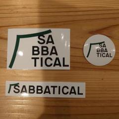 "Thumbnail of ""SABBATICAL サバティカル ステッカー 3枚"""