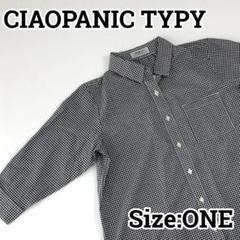 "Thumbnail of ""CIAOPANIC TYPY リネン混7分袖シャツ トップス チェック柄 ONE"""