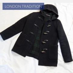 "Thumbnail of ""LONDON TRADITION ミドル丈 ダッフルコート チェック総柄"""