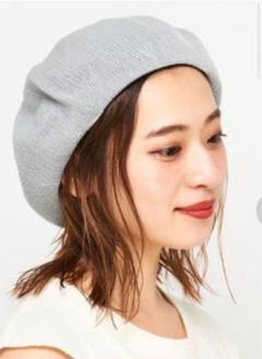 """Thumbnail of """"チャオパニック K.ベレー帽透かし編み グレー 新品タグ付き"""""""
