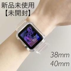 "Thumbnail of ""Apple Watch クリアバンド ベルト アップルウォッチ 透明 韓国雑貨"""