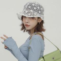 "Thumbnail of ""stylenanda シースルーフラワーバケットハット"""