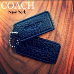 "Thumbnail of ""COACH / Leather TAG Charm Black 2 SET"""