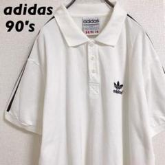 """Thumbnail of """"90s adidas / ビッグシルエットポロシャツ / 刺繍ロゴ"""""""