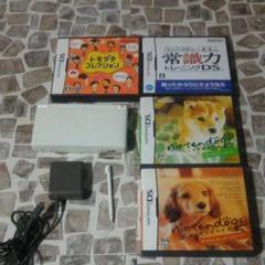 "Thumbnail of ""任天堂DSLite本体、付属品、ソフト4本セット"""