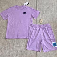 """Thumbnail of """"ナイキ☆ナイキSB☆スケートボード Tシャツ パンツ 上下セット☆パープル☆L"""""""