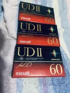 "Thumbnail of ""maxell UDⅡ 60 日立マクセル 3本セット"""