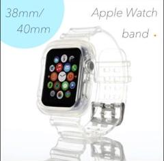 "Thumbnail of ""アップルウォッチ クリアバンド 時計バンド 透明Apple Watch"""