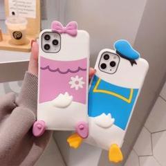 "Thumbnail of ""2021 新品 DUCK iPhone12 ケース  水色"""