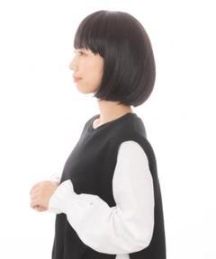 """Thumbnail of """"ボブ フルウィッグ ショート ブラック ウィッグ コスプレ ファッション 髪の毛"""""""