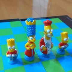 "Thumbnail of ""シンプソンズ チェス & ビデオ3本 SIMPSONS 3-D CHESS"""