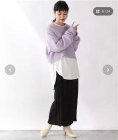 "Thumbnail of ""LOWRYS FARM ランダムプリーツタイトスカート 920251"""