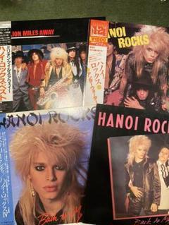 "Thumbnail of ""HANOI ROCKS ハノイロックス LPレコード 8枚セット"""