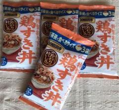 "Thumbnail of ""グリコ 鶏すき丼 お茶碗サイズ 4袋セット"""