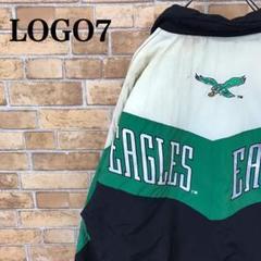 """Thumbnail of """"【LOGO7】90s NFL イーグルス 中綿 ナイロンジャケット ロゴ刺繍"""""""