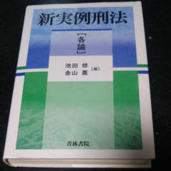"Thumbnail of ""新実例刑法 各論"""
