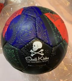 "Thumbnail of ""希少 Skull Kicks  色:ブラック フットサルボール 4号球"""