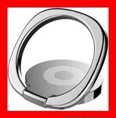 """Thumbnail of """"g) バンカーリング スマホリング ホールドリング 360度 シルバー"""""""