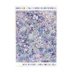 "Thumbnail of ""ジンガロ パズル SKULLS & FLOWERS BLUE SIGNAL"""