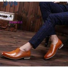 """Thumbnail of """"新品ビジネスシューズ メンズ シークレット 紳士靴 牛革 ローファー フォー5"""""""