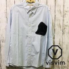"Thumbnail of ""visvim ヴィズヴィム デザイン ポケット ストライプ シャツ Sサイズ"""