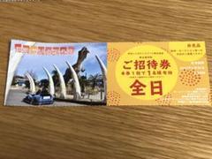"Thumbnail of ""伊豆ぐらんぱる公園 入園券1枚"""
