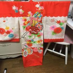 """Thumbnail of """"女の子 宮詣り 刺繍入り 正絹 着物10日出品終了"""""""