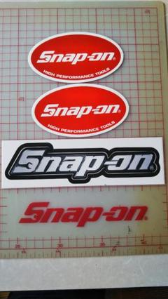 """Thumbnail of """"Snap on  ステッカー 3枚セット."""""""