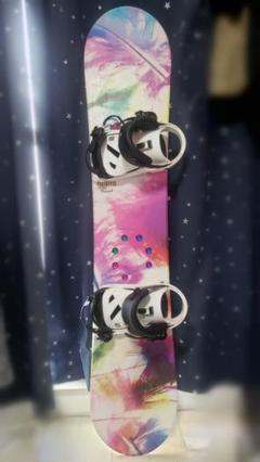 """Thumbnail of """"SALOMON RYTHM ビンディング付きスノーボード リーシュコード付き"""""""
