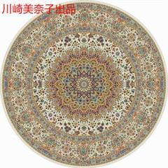 """Thumbnail of """"円形マット 直径160cm ペルシャ風 チェアマット 絨毯 洗える ラグマット"""""""