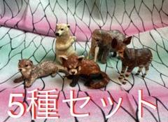 """Thumbnail of """"はしもとみおの彫刻 動物園のなかま 5種セット リーフレット付き 12"""""""