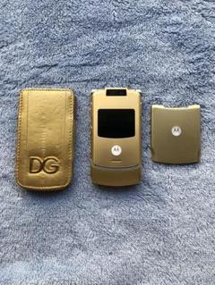 "Thumbnail of ""限定品Dolce&Gabbanaコラボ ゴールドdocomoM702is"""