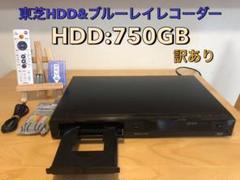"Thumbnail of ""東芝 REGZA BD&HDDレコーダー D-BZ510 750GB換装 訳あり"""