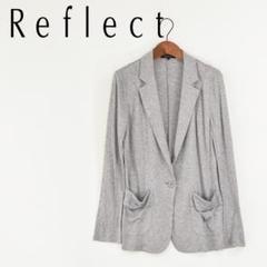 "Thumbnail of ""M7249 美品Reflect 春夏 ストレッチ カットソージャケット霜降グレー"""