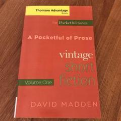 "Thumbnail of ""vintage short fiction volume one"""