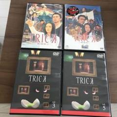 """Thumbnail of """"仲間由紀恵 阿部寛ドラマトリック3巻5巻DVD劇場版2枚trick"""""""